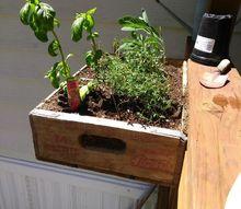 repurposing old coke and pepsi wood cases