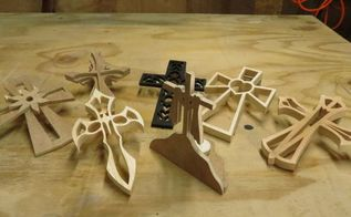 7 amazing wood crosses