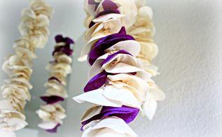 diy room decor tissue paper wisteria