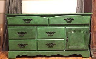 diy furniture makeover bright furniture on a budget