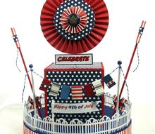 how to make a 4th of july centerpiece with pizazz