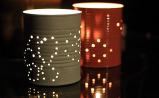 tin can garden lanterns