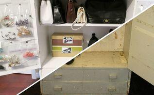 tarnish free jewellery cabinet upcycle