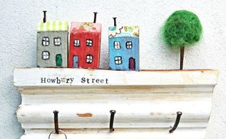 super cute use of scrap wood a wall key rack