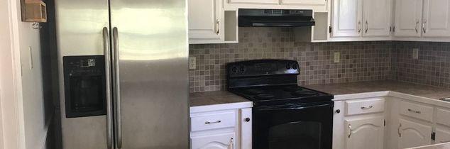 q help black kitchen cabinets