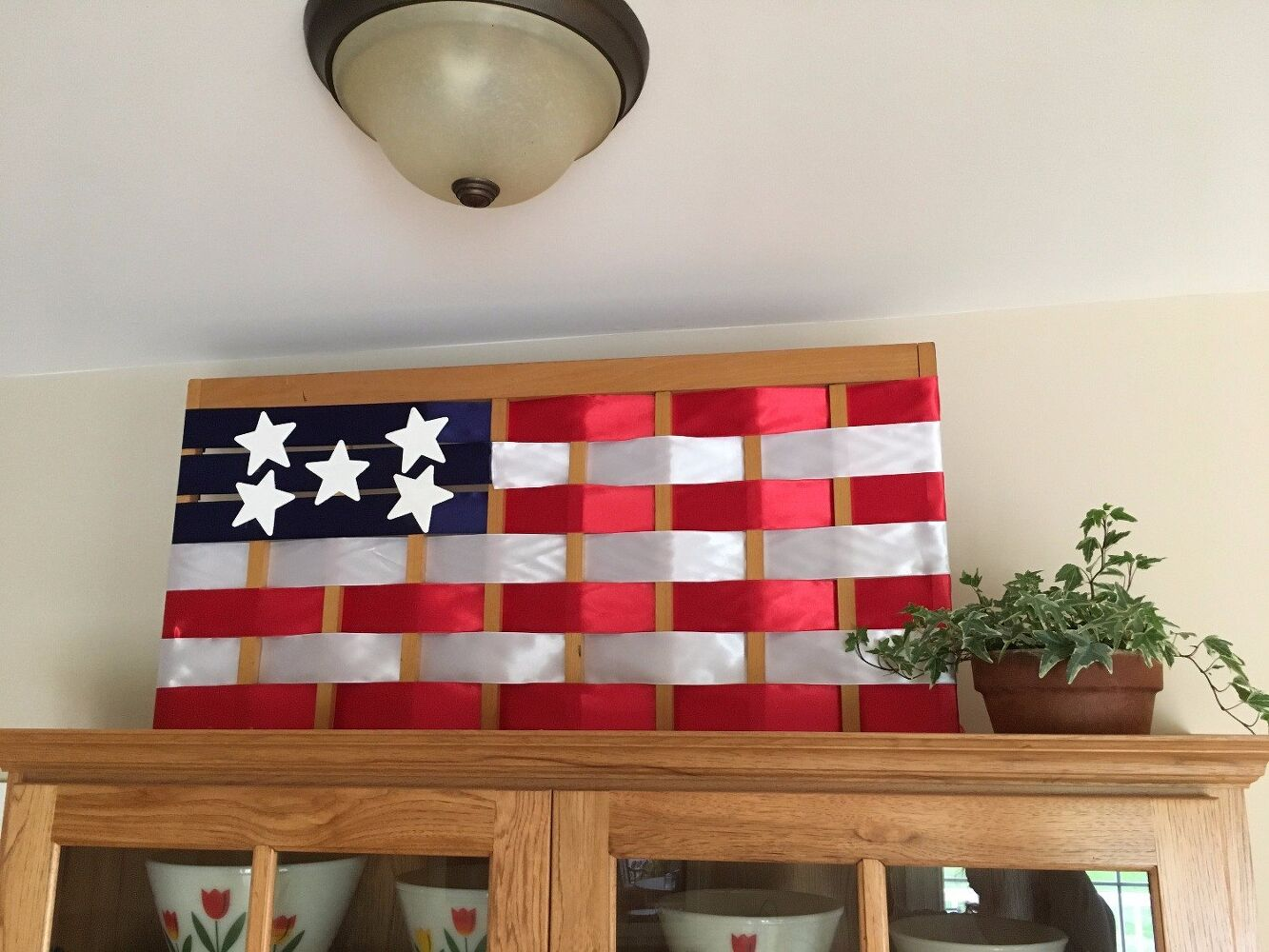 Repurpose A Gate Into Giant Flag