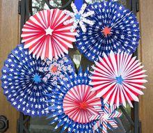 fourth of july fireworks wreath