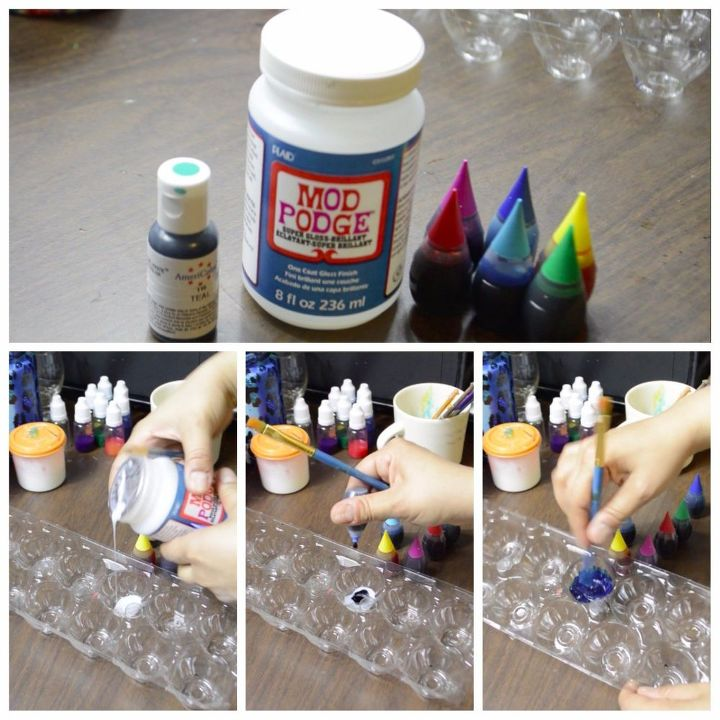 Faux Stained Glass Wine Bottle Using Food Coloring | Hometalk