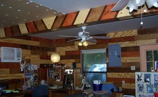 box in your ceiling beams