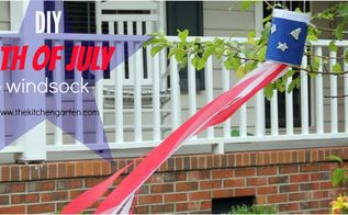 diy 4th of july windsock