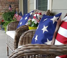 patriotic porch for independence day