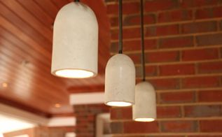 indoor outdoor concrete pendant lights
