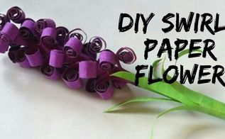 diy paper lavenders