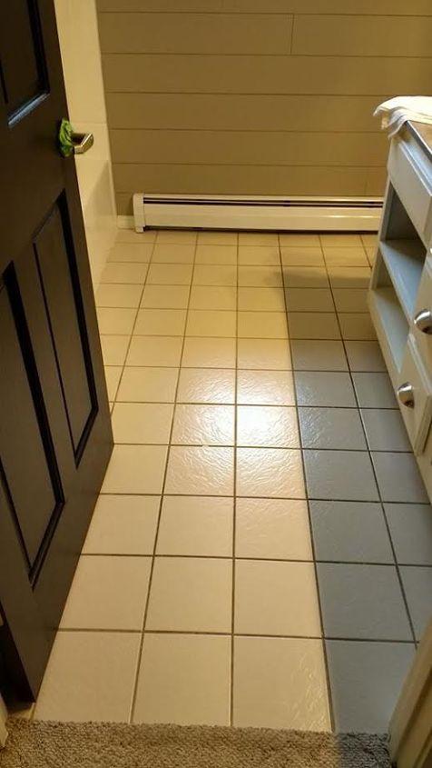 i painted and stenciled my ceramic tile hometalk. Black Bedroom Furniture Sets. Home Design Ideas