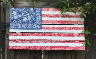 american flag pallets