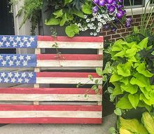 diy pallet flag the hit of your 4th of july party