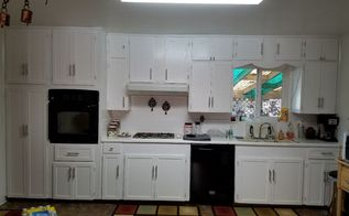 kitchen cupboard makeover on the cheap