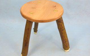 make a 3 legged stool