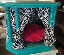 bedside table pet bed