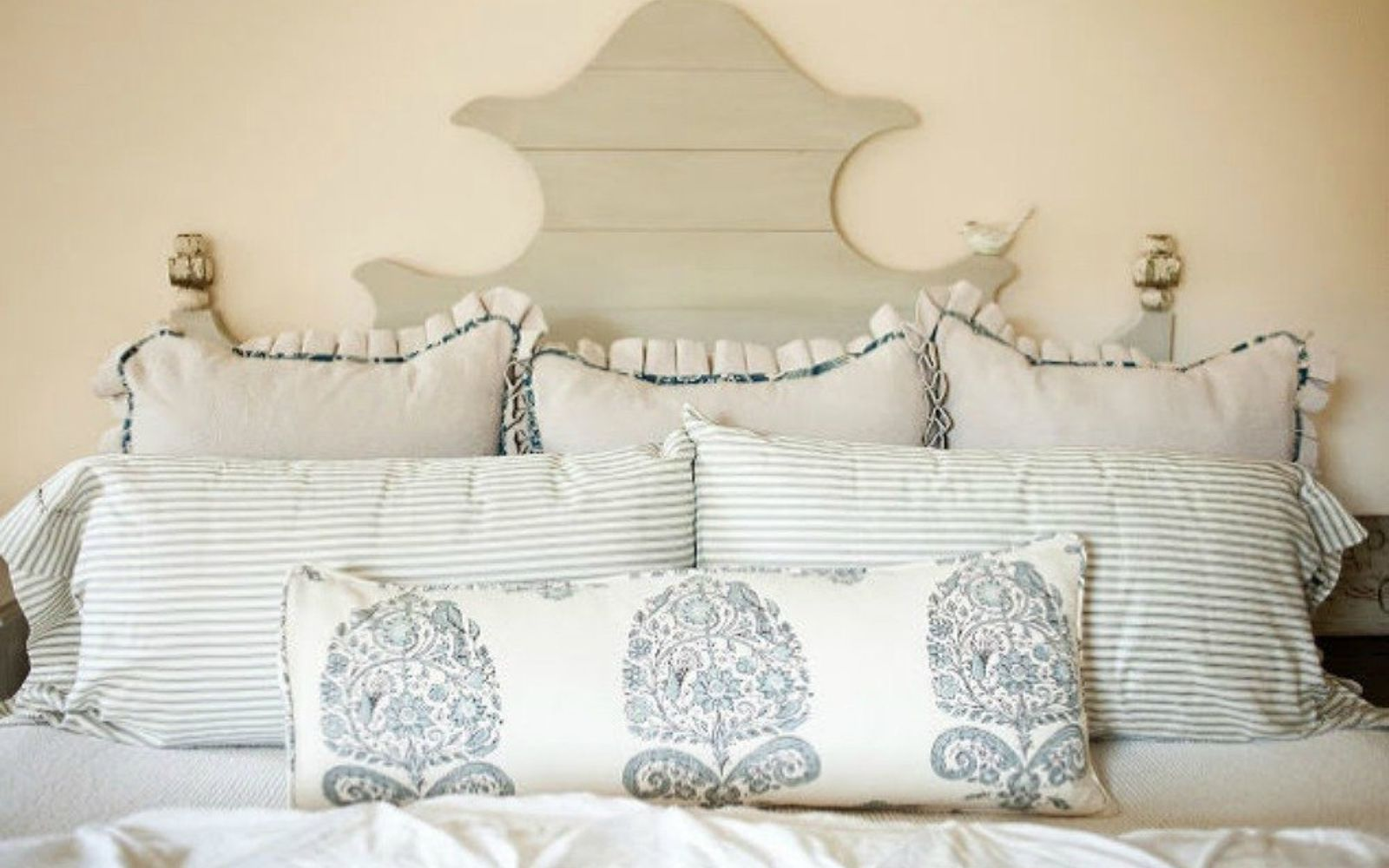 s these are the diy headboard ideas you ve been dreaming of, This Ballard inspired beauty