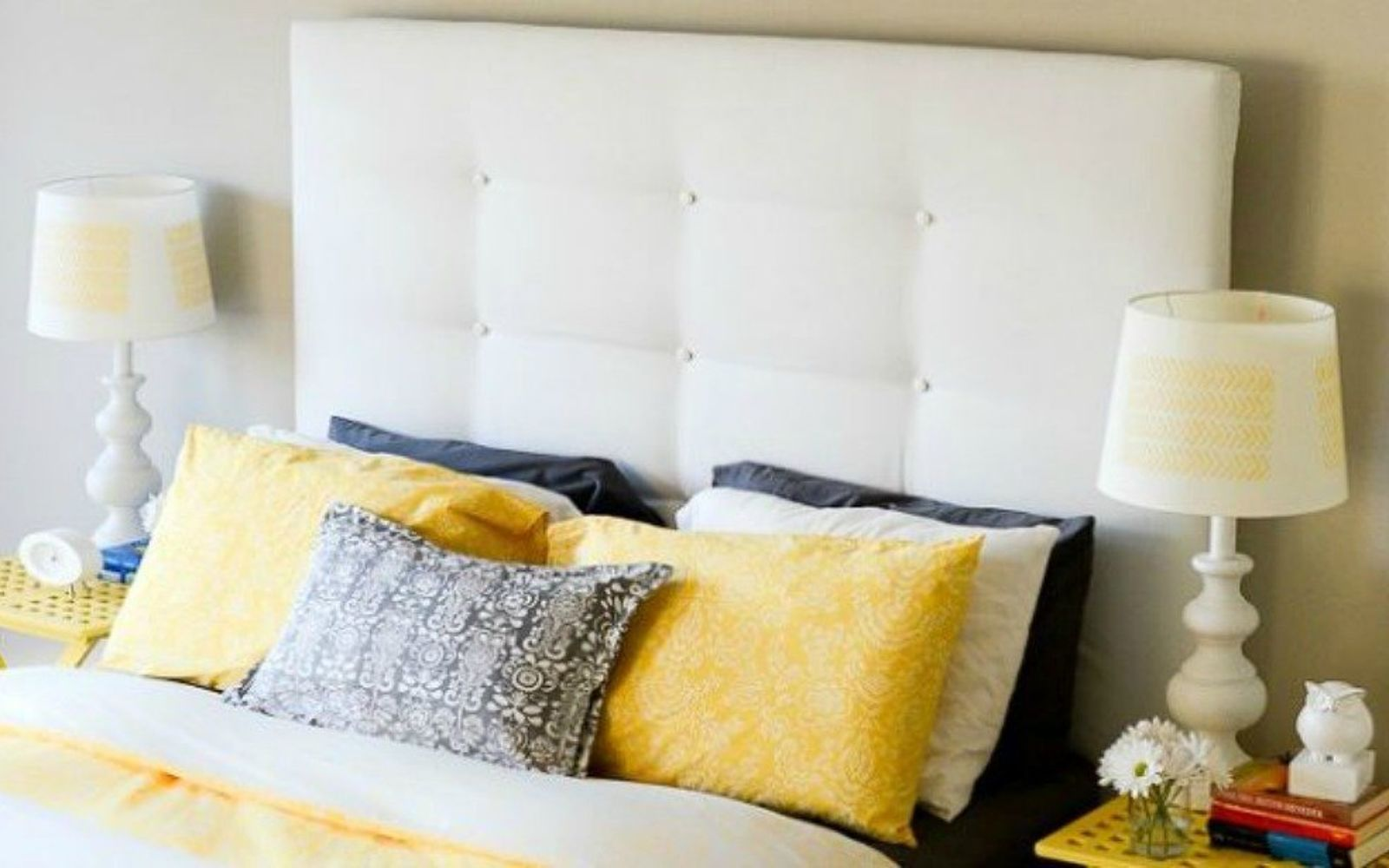 s these are the diy headboard ideas you ve been dreaming of, This darling ikea hack headboard