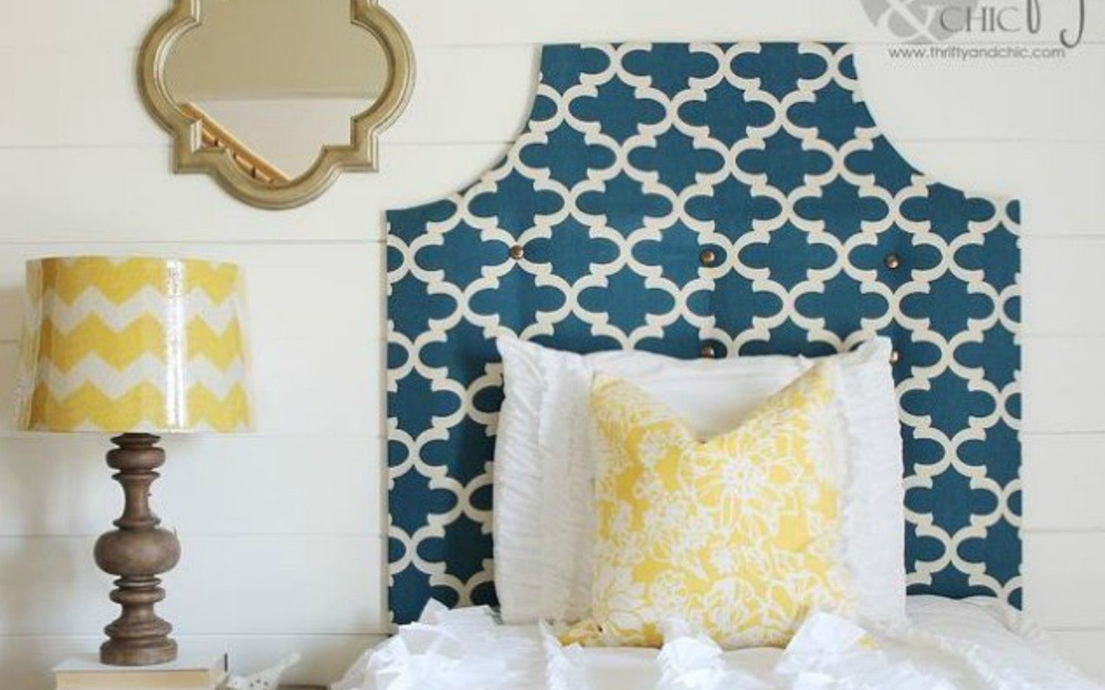 s these are the diy headboard ideas you ve been dreaming of, This budget friendly gem