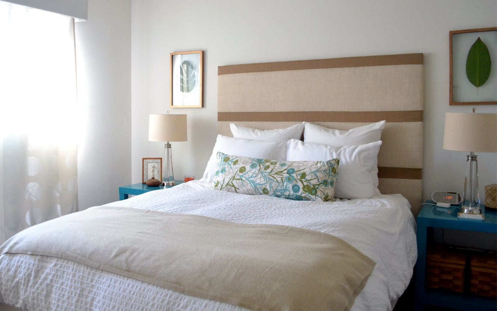 s these are the diy headboard ideas you ve been dreaming of, Get This Country Burlap Beauty