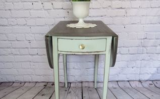 cutest little drop leaf table