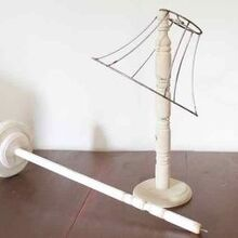 create this practical diy craft organizer with a lamp