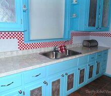 this diy kitchen back splash is electrifying