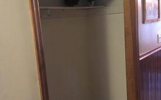 q how do i make an easy diy bench for entryway closet