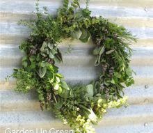easy to make herb wreath