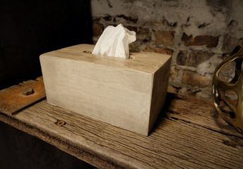 easy concrete tissue box cover