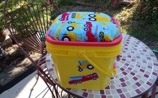 cat little bucket re use