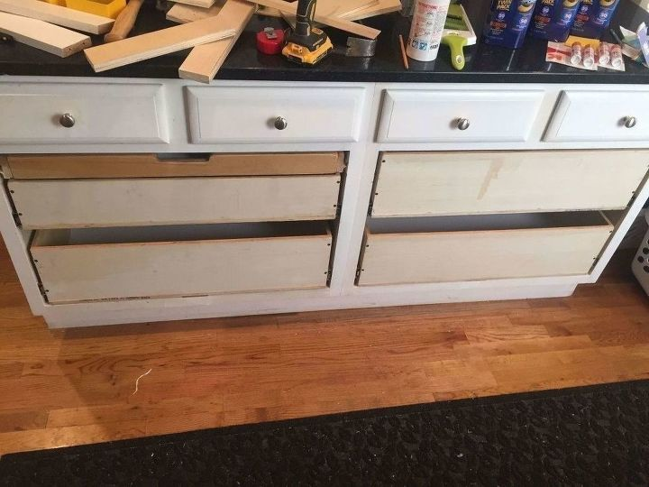 Convert Messy Kitchen Cabinets Into Useful Drawers - A How ...