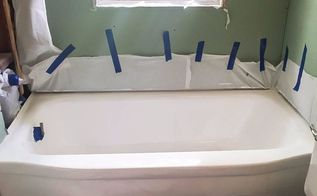 how to paint a bathtub easily inexpensively