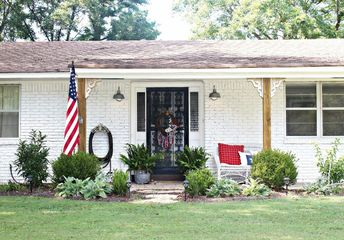 exterior remodel 1970 s ranch to modern farmhouse