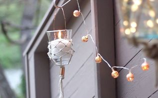 diy hanging lantern part 2