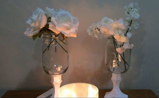 diy mason jar vases easy affordable