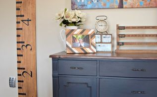 secondhand buffet makeover