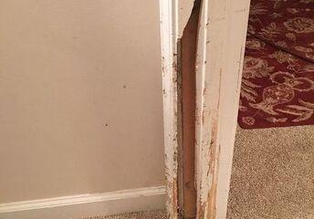 q door frame quick fix