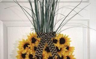 easy diy pineapple wreath