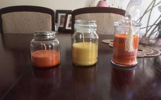 making a scented soy wax candle