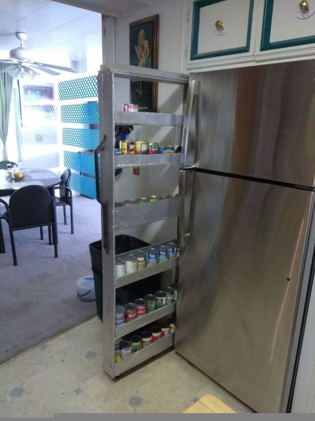 Skinny Shelf Next To Fridge Gap Hometalk