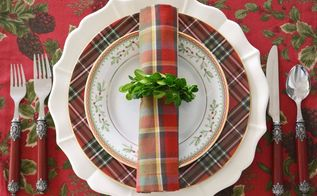 christmas in july and i have a diy napkin ring for your holiday table it s also a