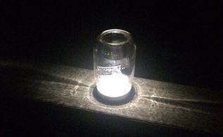 quick easy mason jar solar lighting