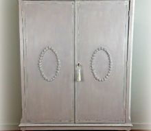 romantic vintage armoire