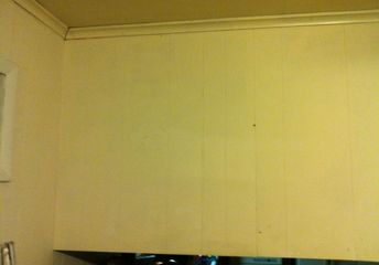 q how do i put up cabinet doors where none exist