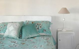 aqua guest bedroom reveal