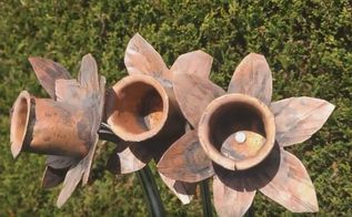 how to make copper daffodils
